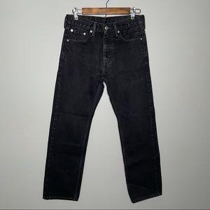 COPY - Levi's Black 505 Jeans Size 29x30